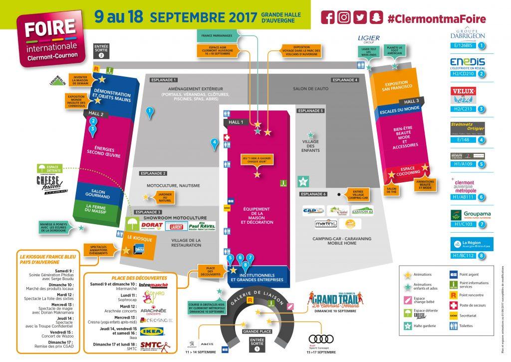 Informations pratiques foire internationale de clermont for Foire internationale de clermont cournon